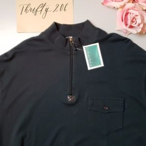 [Cubavera] NWT 2XLT Half Zip Pullover